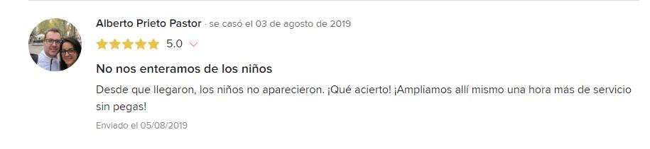 Comentario Alberto