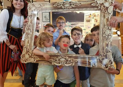 Niños cuadro