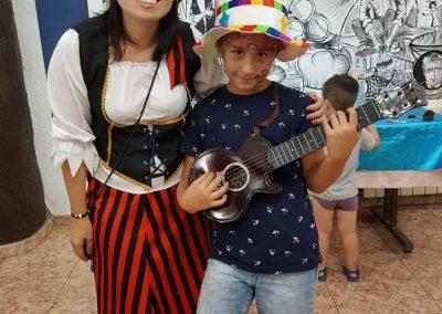 Vestida de pirata